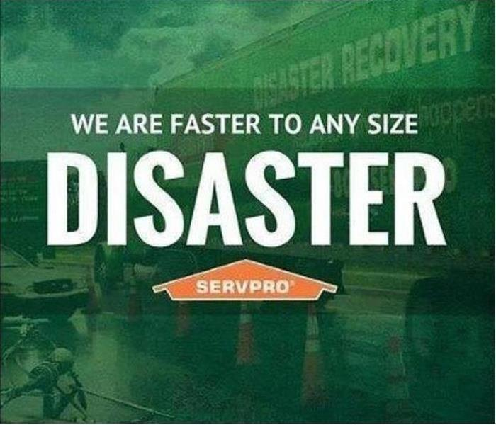 faster to disaster graphic