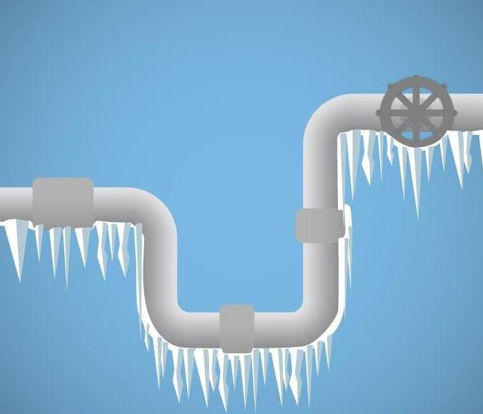 frozen pipe image